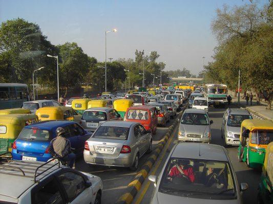 La ville de New Delhi Photo: flickr