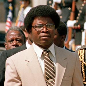 Le présiden Samuel-Kanyon Doe Photo depuis nofi.fr