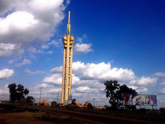 Monument de l'échangeur, symbole emblématique de la ville de Kinshasa. Photo depuis cccrdc.org